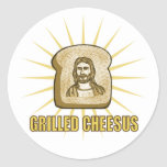 Grilled Cheesus stickers