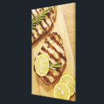 """Grilled Chicken Breasts Canvas Print<br><div class=""""desc"""">Asset ID: 108967988 / James And James / Grilled Chicken Breasts</div>"""