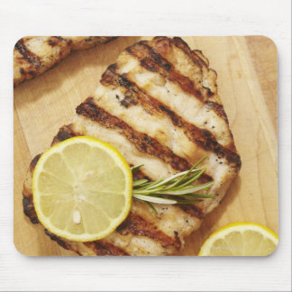 Grilled Chicken Breasts Mouse Pad