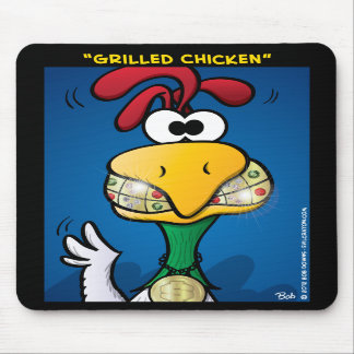 """""""Grilled Chicken"""" Mouse Pad"""