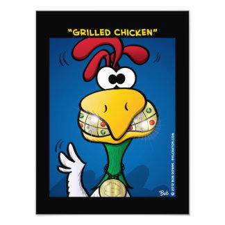 """""""Grilled Chicken"""" Photo Print"""