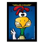 """""""Grilled Chicken"""" Postcard"""