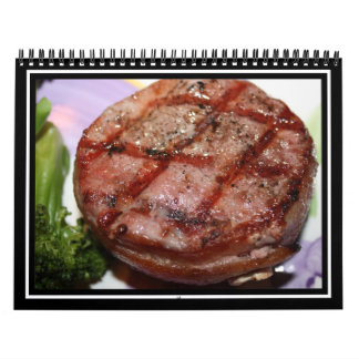 Grilled Filet Mignon Wall Calendars