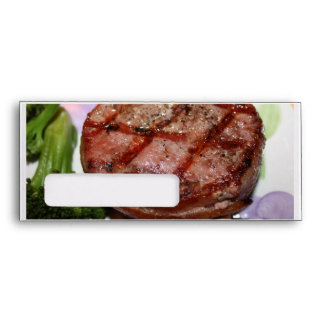 Grilled Filet Mignon Envelopes
