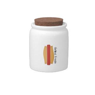 Grilled Fresh Candy Jar
