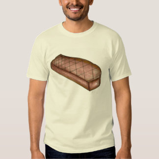 Grilled New York Strip Steak Meat Food Grilling T Tee Shirt