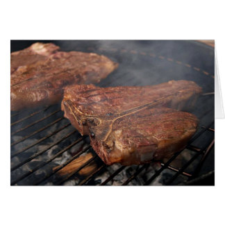 Grilled Porterhouse Steak Card