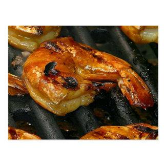 Grilled Shrimp Postcard