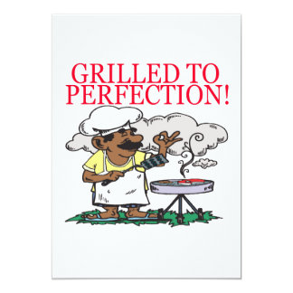 Grilled To Perfection Card