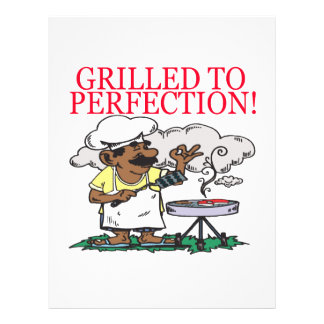 Grilled To Perfection Flyer