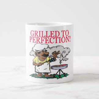 Grilled To Perfection Large Coffee Mug