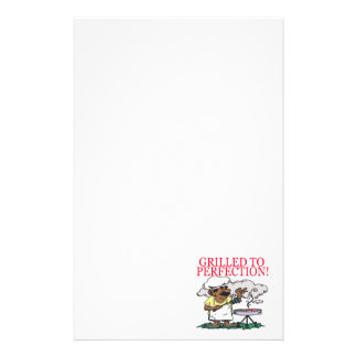 Grilled To Perfection Personalized Stationery