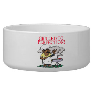 Grilled To Perfection Pet Bowl