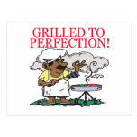 Grilled To Perfection Postcards