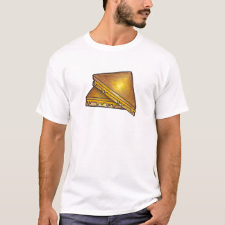 Grilled Toasted Cheddar Cheese Toastie Sandwich T-Shirt