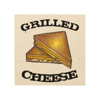 Grilled Toasted Cheese Sandwich Kitchen Decor
