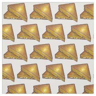 Grilled Toasted Cheese Sandwich Sandwiches Fabric