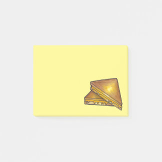 Grilled Toasted Cheese Toastie Sandwich Foodie Post-it Notes