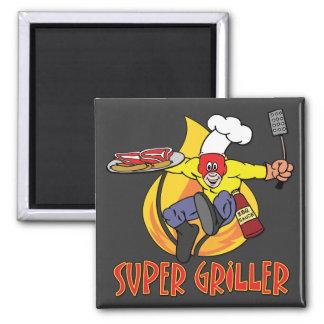 Griller estupendo iman para frigorífico