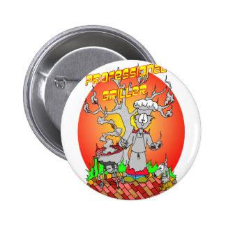Griller profesional pin redondo de 2 pulgadas