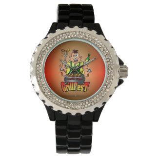 GrillFest Wrist Watch