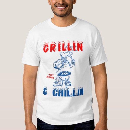 Grillin_Chillin Tshirts