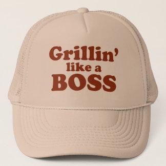 Grillin' like a Boss Trucker Hat