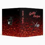 Grillin' Recipes Vinyl Binder