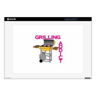 Grilling Addict Decals For Laptops