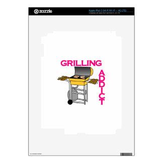 Grilling Addict iPad 3 Skin