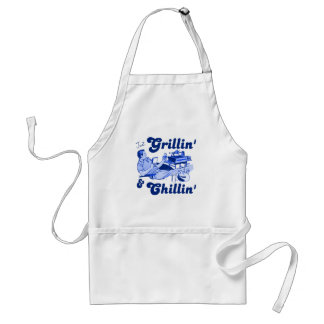 Grilling and Chilling Adult Apron