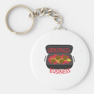 Grilling Business Keychains