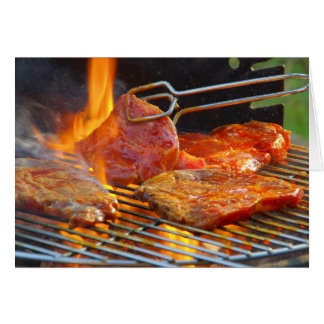 grilling card