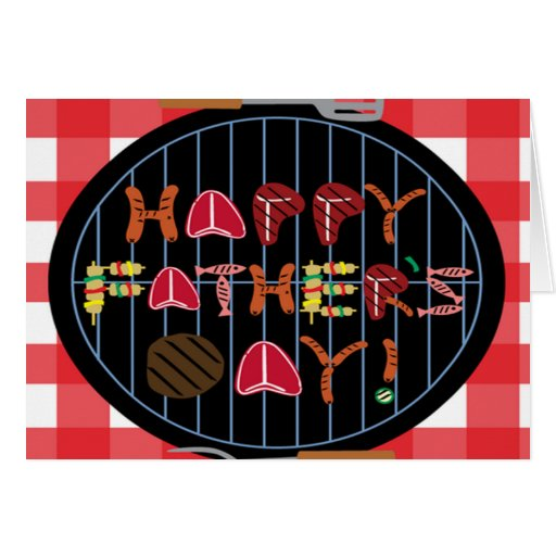 Grilling Father's Day Greeting Cards