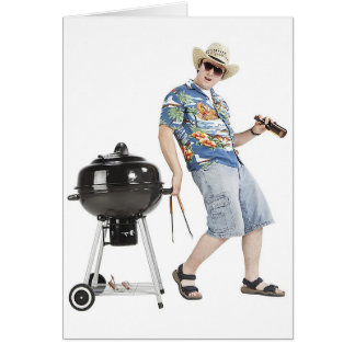 Grilling For Guys Card