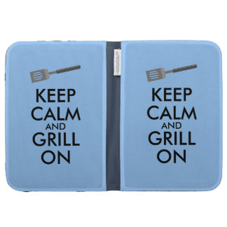 Grilling Keep Calm and Grill On Barbecue Spatula Kindle 3 Case