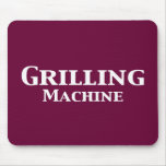 Grilling Machine Gifts Mouse Mat