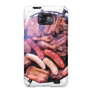 Grilling Meat Samsung Galaxy SII Covers