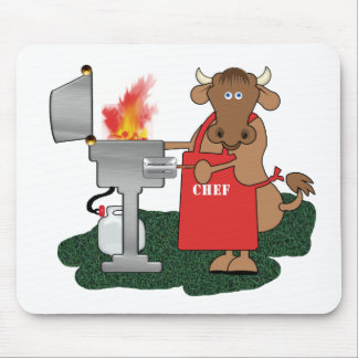 Grilling Mouse Pad