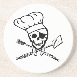 Grilling Pirate Jolly Roger Coasters
