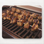 Grilling Some Tangerine Marinated Beef. Mouse Pad