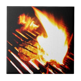 Grilling Steak Tile