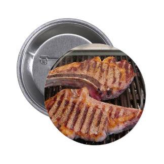 Grilling Steaks Food Dinner Pins
