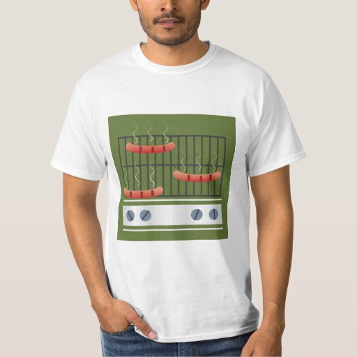Grilling The Dogs Men's T-shirt