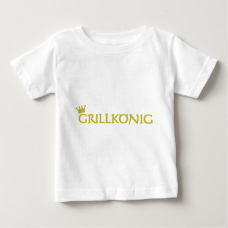 Grillkönig Baby T-Shirt