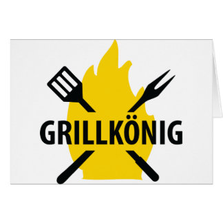 Grillkönig icon card