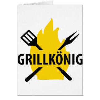 Grillkönig icon cards