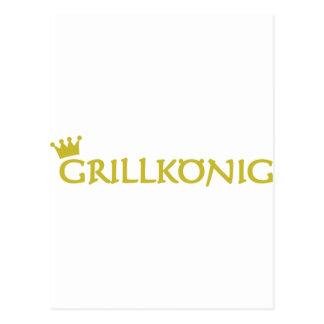 Grillkönig Post Cards