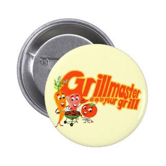 Grillmaster 2 Inch Round Button