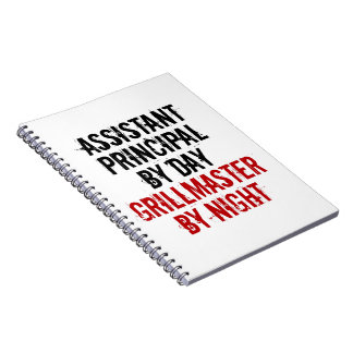 Grillmaster Assistant Principal Spiral Notebook